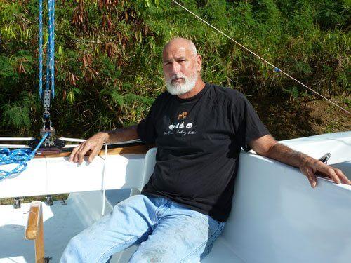 Boat builder George 'Moose' Silva