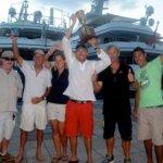 The Winning Crew from The Gunboat 66 Phaedo
