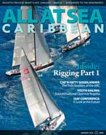 All At Sea - The Caribbean's Waterfront Magazine - January 2012