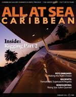 All At Sea - The Caribbean's Waterfront Magazine - February 2012