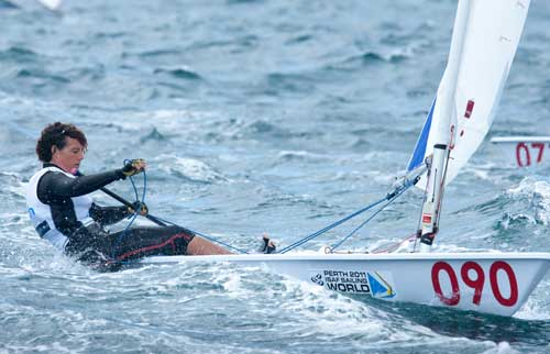 St, Lucia's Beth Lygoe and the Laser Radial Class