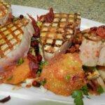 Tuna Steaks with Blood Orange Salad