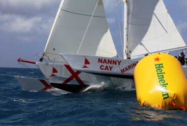 This year the Multihulls were out in Force