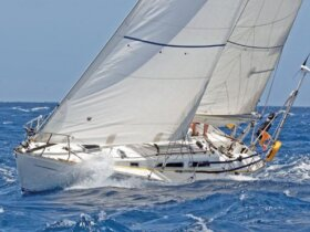 Happy Morning – winner of Cruising Class A. Photo: Peter Marshall