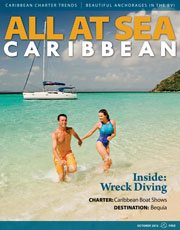 All At Sea - The Caribbean's Waterfront Magazine - October 2012