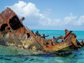 Wrecks – above and below the sea. Photo: NOAA Photo Library