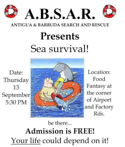 ABSAR Safety at Sea Affair Flyer