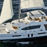 Introducing the Moorings 5800 catamaran, the most innovative and spacious yacht ever offered by The Moorings, is available for bareboat charter, or all-inclusive cruising with Captain, Chef and Hostess.