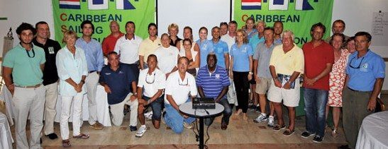 Delegates at the Caribbean Sailing Association Regatta Organizers' Conference held in St. Maarten October 21st – 22nd 2012. Photo: OceanMedia