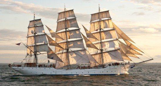 A Class tall ship Christian Radich
