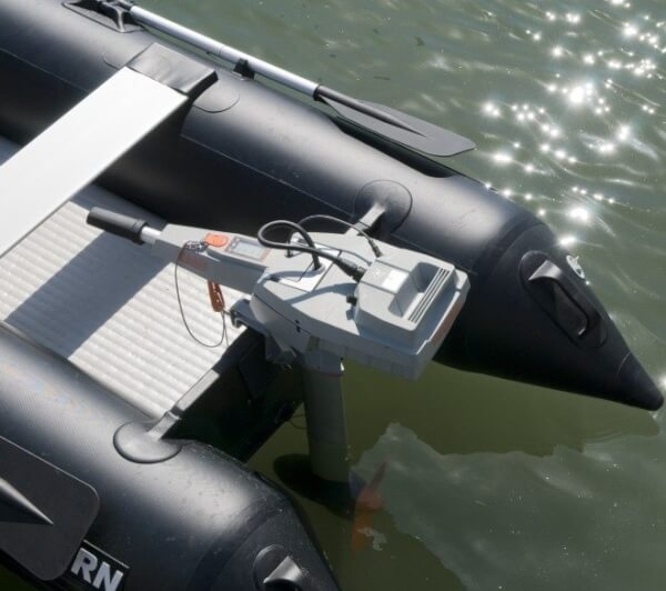 Electric Outboard Motor by Torqueedo