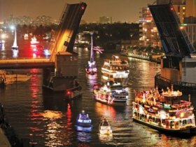 Christmas Boat Parade - Photo Courtesy of Winterfest