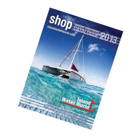 Island Water World Catalog Cover for 2013