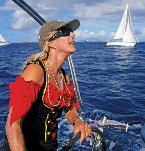 Swashbuckling Annie Gardner swept away the competition. Photo: Betsy Crowfoot