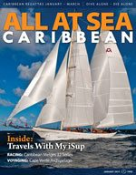 All At Sea - The Caribbean's Waterfront Magazine - January 2013