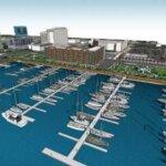 Aerial View of the NEW Wilmington Marina - The Port City Marina