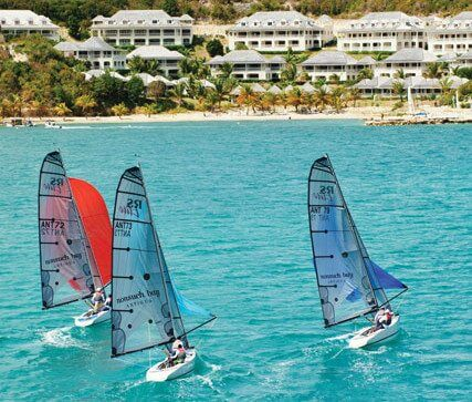 RS Elites racing at Nonsuch Bay Resort in Antigua. Photo compliments of Nonsuch Bay Resort