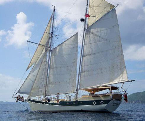 Topsail schooner