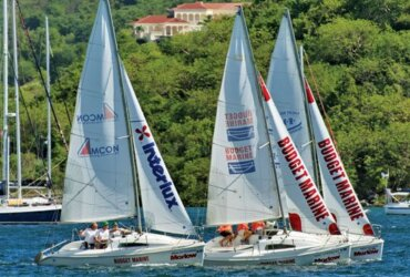 Tight racing and fluky winds marked this year's Interlux Regatta