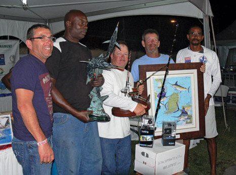 Exile – worthy winners of the Budget Marine Spice Island Billfish Tournament. Photo: Gary Clifford