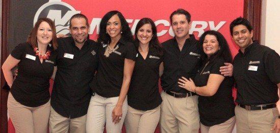 The Mercury Marine Latin America Team