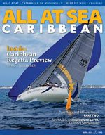 All At Sea - The Caribbean's Waterfront Magazine - April 2013