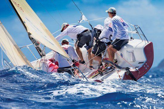 Chalking up another class win – Budget Marine/Gill. Photo: LVSB