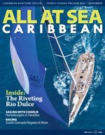 All At Sea - The Caribbean's Waterfront Magazine - May 2013