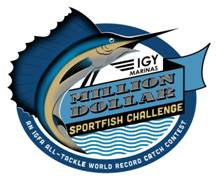 Logo for the Million Dollar Sportfish Challenge