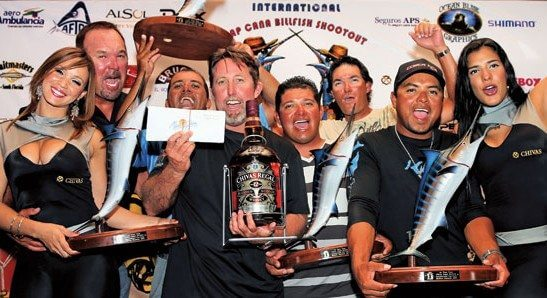The winning team – Uno Mas of the The International Cap Cana Shootout. Photo: Richard Gibson