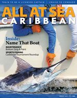 All At Sea - The Caribbean's Waterfront Magazine - August 2013