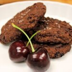 Gluten-Free Chocolate Cherry Chili Cookies