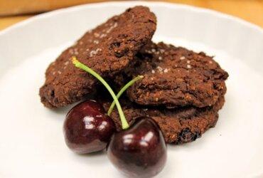 Gluten-Free Chocolate Cherry Chili Cookies
