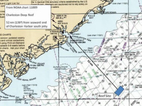 The reef will be created approximately 50 miles offshore from Charleston