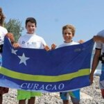 Flying the flag for Curaçao at the IFCA Junior, Youth & Masters Slalom World Championships (from left): Aron Etmon, Jean Paul Da Silva De Goes, Oscar Etmon and Jean Patrick Van Der Wolde
