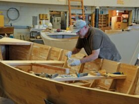 Teaching Future Boatbuilders