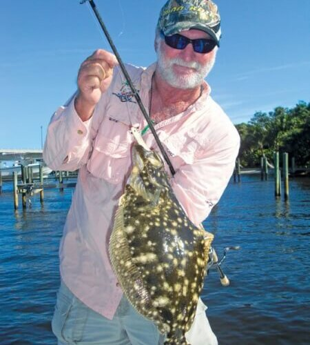 """Today DOA shrimp are made out of poly-vinyl that is injected into molds in Jacksonville,"""" said Nichols. """"The DOA shrimp sinks slower than evolution by design, but it can be modified by experienced anglers to include a rattle or to be fished with a CAL jighead"""