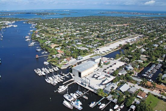 "Stuart, Fla. Hinckley's biggest yard and marina is in Manatee Pocket, a destination renowned for its sport fishing and ""old Florida"" feel. It has developed a reputation for superior marine carpentry, fiberglass, hull and engine repair work."