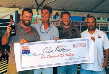 A big check is an attraction but only if the event is well organized. Photo: OceanMedia