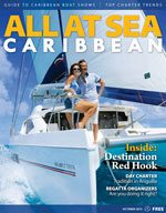 All At Sea - The Caribbean's Waterfront Magazine - October 2013