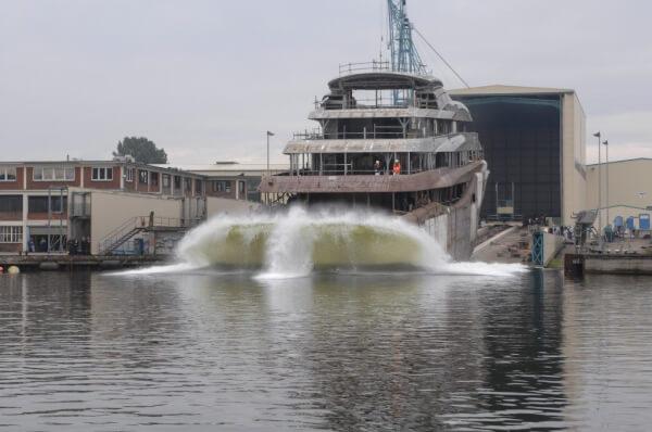 Lürssen Yachts launched Project Orchid