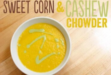 Sweet Corn and Cashew Chowder