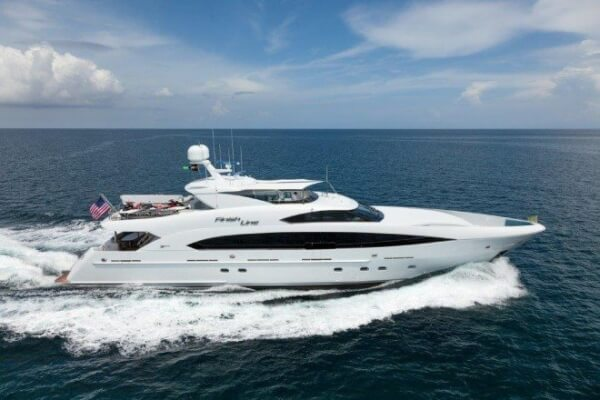 Trinity Yachts, FINISH LINE, Hull T-058, Profile