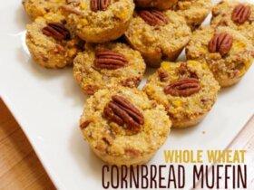 Whole Wheat Cornbread Muffin Recipe