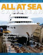 All At Sea - The Caribbean's Waterfront Magazine - September 2013