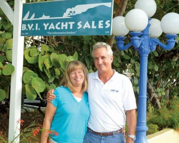 Chris and Karen of BVI Yacht Sales