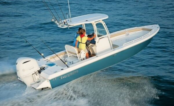 The Hull Design of Everglades Boats is meant to get you out and back safely