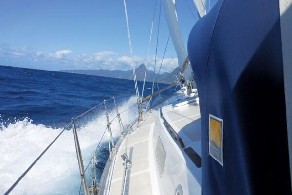The thrill of landfall. Photos courtesy of Sailing Rallies