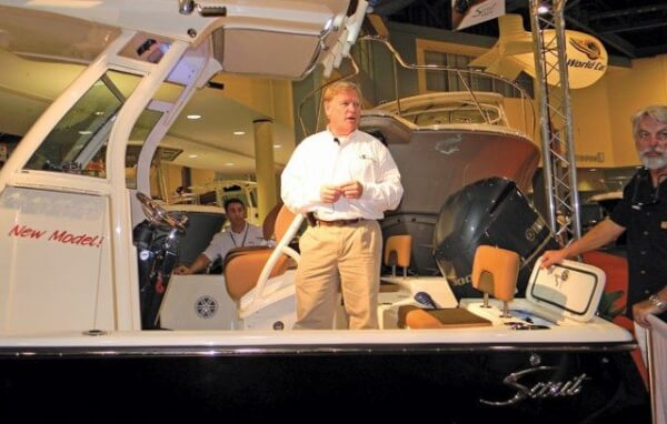 Steve Potts, CEO and Founder of Scout Boats