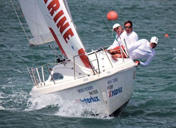 The Interlux Regatta brings excitement to the Simpson Bay Lagoon
